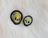 Ready to ship - greenish skull cuties