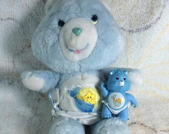 15% OFF 1980s Care Bears Baby Tugs Plush and PVC Posable Figure