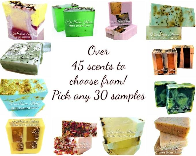 30 Soap Samples