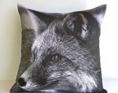 "SALE SALE SALE Animal cushion,animal pillow, fox pillow,Fox cushion,decorative pillow eco friendly organic cotton cushion cover, pillow, 16"""