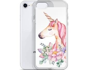 Unicorn iPhone Case - Unicorn Phone Cover - Unicorn Phone Cover - iphone 7 case - iphone 6 case - iphone x case