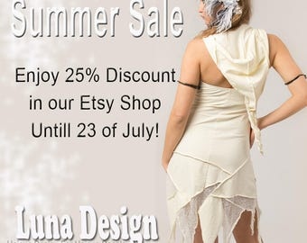 BIG SUMMER SALE  25% of In our Etsy Shop  untill 23 of July!