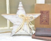 Wooden Star - country home decor - Wood Freestanding Star - patriotic