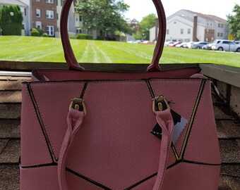 R.I.O.T. Small Tote Pink Purse