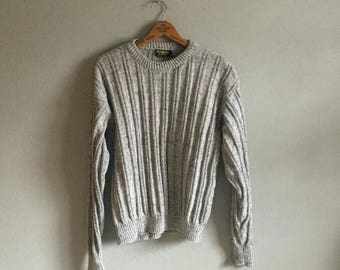 final 2017 MASSIVE SALE ribbed pullover sweater 90s vintage osh kosh unisex oversized long mens women jumper normcore preppy o neck warm chu