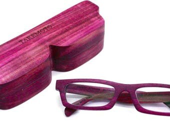 love-wood  purple wood  Custom Prescription Sunglasses Galsses