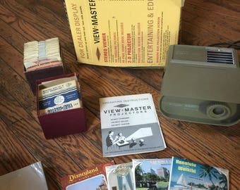 Vintage Sawyer's View Master Projector Reels
