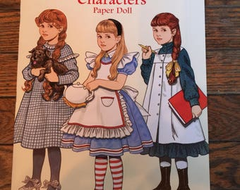 Vintage Dover Paper Dolls Favorite Storybook Characters Tom Tierney