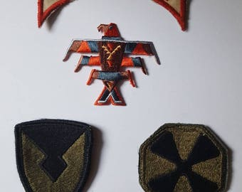 Vintage patches embellishments