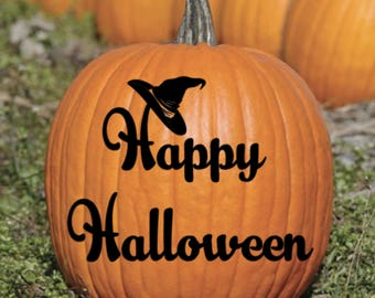 Happy Halloween Vinyl Decal Sticker