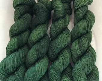Green Gables QUARTER Skein .. Canon Hand Dyes William Merino Sock Yarn