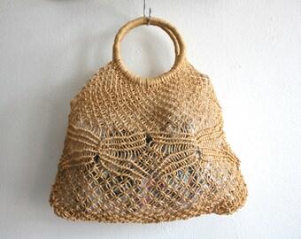 Sisal Tote Bag