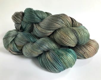Sea Saltings.  Zorya Pure Silk Lace. 95g