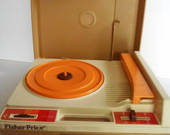 Vintage Fisher Price Record Player 1978