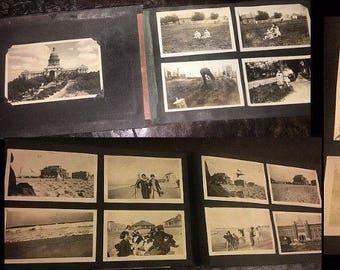 Great Vintage Snapshot Album with *** 250 *** Photos - Oklahoma & Oregon