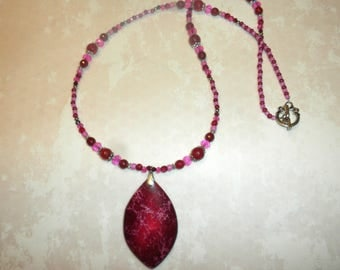 Cranberry And Pink Sea Sediment Jasper
