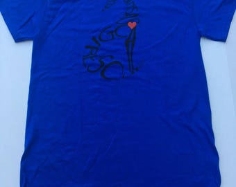 MEDIUM - Royal Blue Rescue T-shirt