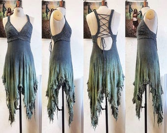 OOAK Fairy Mermaid Dress Of Dreams