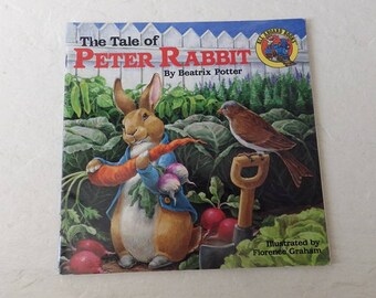 The Tale of Peter Rabbit, By Beatrix Potter. Small softcover booklet, Very Good Condition. 1990