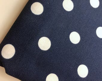 Indoor Outdoor Polka Dot Home Decor Fabric, 100% Cotton Pillow Fabric, Premier Prints  Fabric