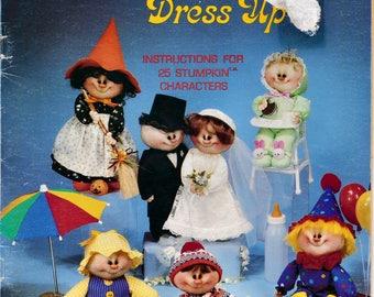 Soft Sculpture Stumpkin Babies Dress UP Patterns for 25 Characters