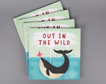 Out In The Wild by Oliver Lake ~ Signed ~ Children's Book ~ Kids Book ~ Animal Storybook ~ Picture Book