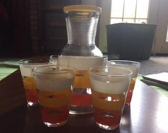 Anchor Hocking Juice set Carafe
