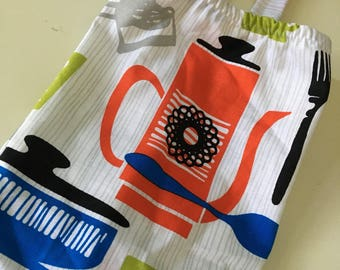 Plastic Bag Holder - Grocery Bag Holder, Dispenser - Kitchen Theme