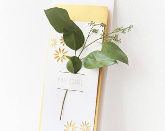 My Girl // Dried Floral Notes