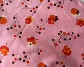 Pink Small Bouquet Flea Market Fancy by Denyse Schmidt for FreeSpirit - 1/2 yard cut
