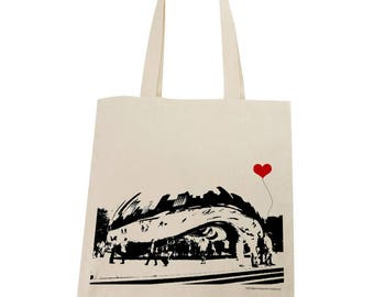 MISPRINT - The Bean in Chicago Tote Bag On Sale