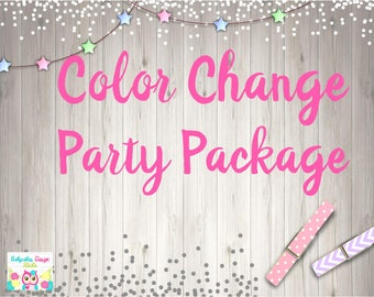 Color Change Request Party Package