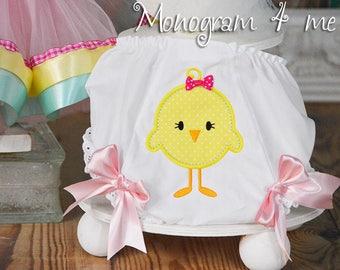 Little Chick Bloomers - Birthday Underwear - Girls Smash Cake - Panties - Farm