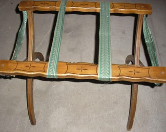 Luggage Rack Etsy