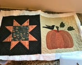RESERVED for NANCY- Quilted Table Runner, Country Quilts, Handmade- MW