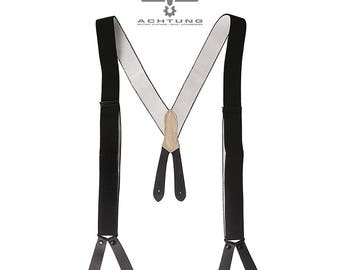 German Black Suspenders
