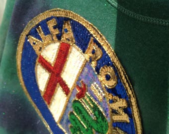 Alfa Romeo One-of-a-kind Vintage Tie Dye Bleached Crewneck Sweatshirt