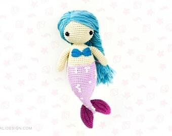 Sandra the mermaid | amigurumi pattern