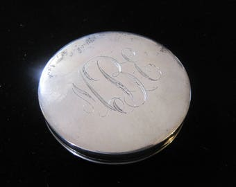 Sterling Silver Compact