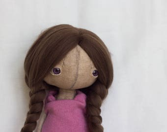 SALE Totootse handmade artist doll LiLy