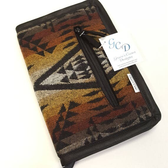 ETC case in Pendleton Wool Light