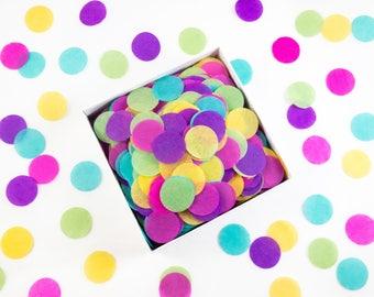 Piñata Party! Circles | Colorful Tissue Paper Confetti / Table Confetti | Fiesta decorations, birthday, wedding, baby shower, Cinco de Mayo