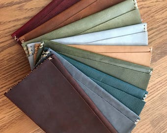 Handmade genuine leather wallets