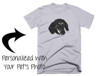 Personalized Dachshund Tshirt / Custom Sausage Dog Shirt / Wiener Dog Tee / Clothing / Doxie Mom / Dog Lover / Dog Mom / Dachshund Gift