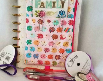Sheep Planner pouch accessory holder