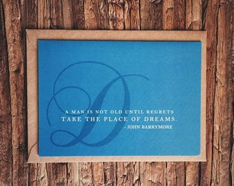 Regrets & Dreams