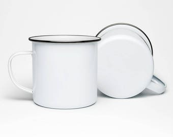 Lightweight Enamel Mugs