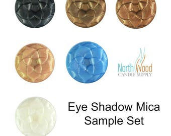 Eye Shadow Mica Colors - Make Your Own Make Up - Top Selling Eye Shadow Mica Sample Pack