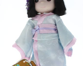 """Children of the World Precious Moments Doll 9"""" Kyoto Japan"""