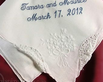 Mother of the Bride Handkerchief Wedding